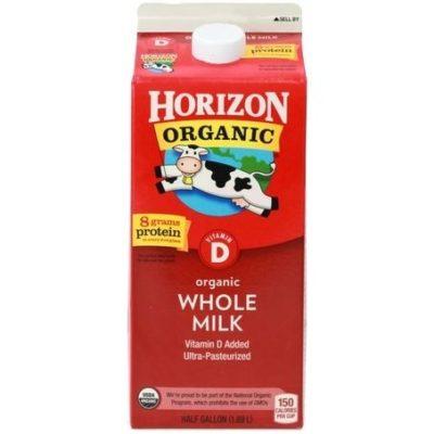 237123 milk whole organic