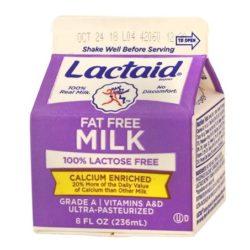 238071 milk lactaid ff 8oz