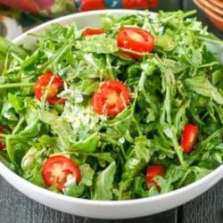 Arugula Salad with Lemon Balsamic Dressing EverydayMaven™