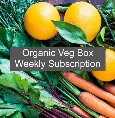 weekly Veg box subscription 1 1