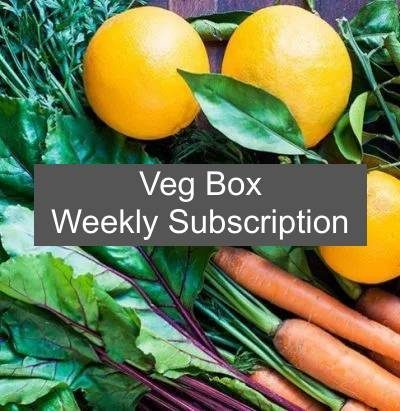 weekly Veg box subscription 2