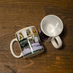 château coffe mug