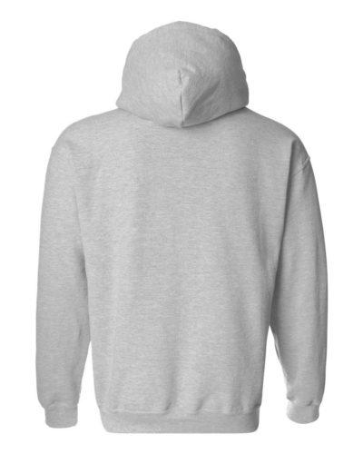 grey hoodie back